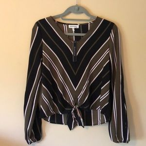Monteau striped blouse
